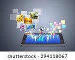 modern wireless technology and... | Shutterstock . vector #294118067