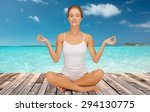 people  health  wellness and... | Shutterstock . vector #294130775