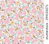 flower pattern | Shutterstock .eps vector #294133271