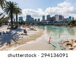 brisbane  australia may 28 ... | Shutterstock . vector #294136091