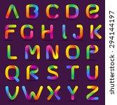 Fun English Alphabet One Line...