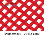 trendy diagonal vichy pattern   ... | Shutterstock .eps vector #294151289