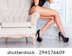 perfect  sexy legs and ass of... | Shutterstock . vector #294176609