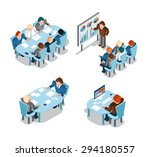 business negotiations and...   Shutterstock .eps vector #294180557