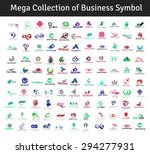 mega collection of vector... | Shutterstock .eps vector #294277931