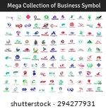mega collection of vector...   Shutterstock .eps vector #294277931
