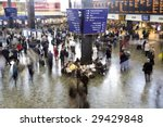 Euston Station In The Rush Hou...