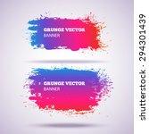 grunge vector banner. eps10... | Shutterstock .eps vector #294301439