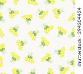 seamless pattern with chamomile ... | Shutterstock . vector #294304424