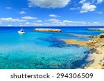 A View Of A Blue Lagoon Near...