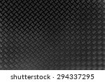 black metal sheet texture... | Shutterstock . vector #294337295