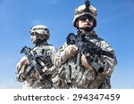 two united states airborne...   Shutterstock . vector #294347459
