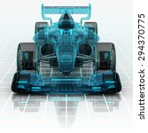 formula car technology... | Shutterstock . vector #294370775