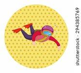 diver theme elements | Shutterstock .eps vector #294385769