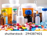 drugs  pill  cancer. | Shutterstock . vector #294387401