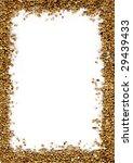 close up textured frame of... | Shutterstock . vector #29439433