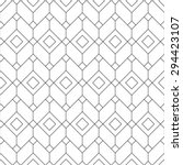 Stock vector seamless geometric pattern geometric simple print vector repeating texture 294423107