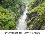 canyon of pastaza river near... | Shutterstock . vector #294437501