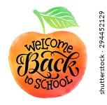 Welcome Back To School Vector...