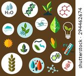 science and agronomic research... | Shutterstock .eps vector #294462674
