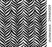 black wavy stripes on white... | Shutterstock .eps vector #294464309