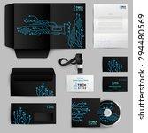 corporate identity realistic... | Shutterstock .eps vector #294480569