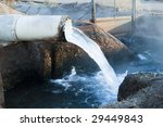 water flowing from a pipe into... | Shutterstock . vector #29449843
