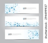 vector design banner network... | Shutterstock .eps vector #294499937