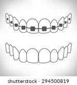 tooth | Shutterstock .eps vector #294500819