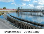 basin with cleaning water in... | Shutterstock . vector #294513389