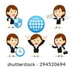 vector illustration   cartoon... | Shutterstock .eps vector #294520694