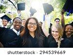 graduation student commencement ... | Shutterstock . vector #294539669