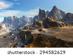 fantasy landscape | Shutterstock . vector #294582629