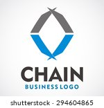 chain link connect group...   Shutterstock .eps vector #294604865