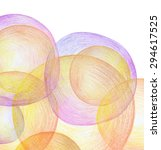 abstract color pencil scribbles ... | Shutterstock . vector #294617525