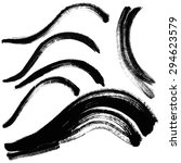 vector hand drawn grunge dry... | Shutterstock .eps vector #294623579