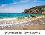 Beautiful Wild Beach With Clea...