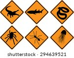 vector traffic information and... | Shutterstock .eps vector #294639521