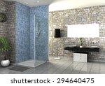 Modern Bathroom Interior...