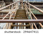 an old blast furnace to visit... | Shutterstock . vector #294647411