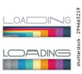loading bars set in a new...