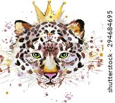 Snow Leopard T Shirt Graphics....