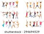 united colleagues winning idea  | Shutterstock . vector #294694529