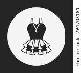 dress icon | Shutterstock .eps vector #294706181