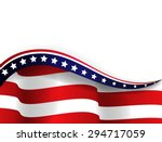 american flag. vector | Shutterstock .eps vector #294717059