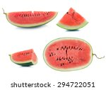 water melon on white background | Shutterstock . vector #294722051
