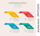 business infographic template...   Shutterstock .eps vector #294751091