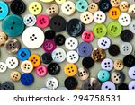 colorful buttons | Shutterstock . vector #294758531