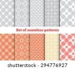 geometrical seamless pattern.... | Shutterstock .eps vector #294776927