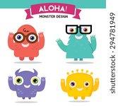 Aloha Monster Collection